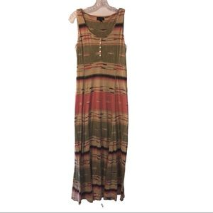 Lauren Ralph Lauren Multi-Colored Sleeveless Dress